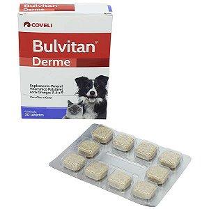 Suplemento Coveli Bulvitan Derme - 30 Tablets