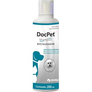 Shampoo Coveli Doc Pet Restaurador para Cães e Gatos