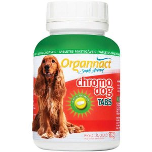 Suplemento Alimentar Organnact Cromo Dog Tabs - 30 tabletes