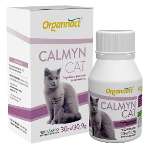 Suplemento Alimentar Organnact Calmyn Cat – 30ml