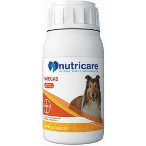 Nutricare Omegas 60 tabs Bayer Suplemento Cães