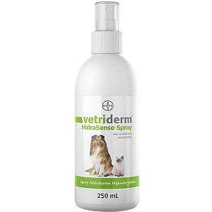 Spray Hidratante Bayer Vetriderm Hipoalergênico HidraSense