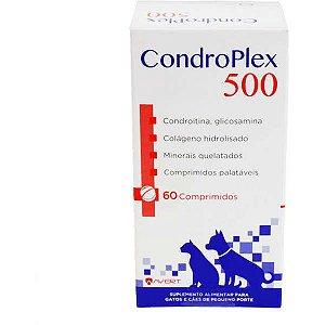 Suplemento Alimentar Avert CondroPlex 500 para Cães e Gatos de Pequeno Porte