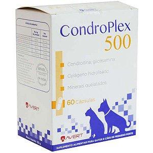 Suplemento Alimentar Avert CondroPlex para Cães e Gatos 60 Cápsulas
