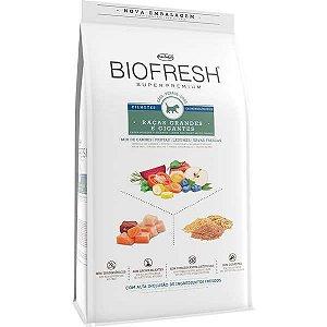 Ração Seca Biofresh Mix de Carne, Frutas, Legumes e Ervas Frescas Cães Filhotes de Raças Grandes e Gigantes
