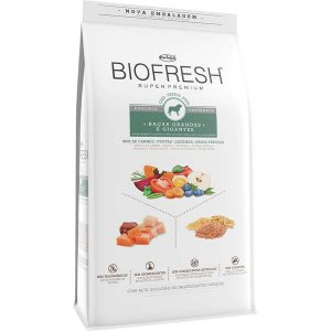 Ração Seca Biofresh Mix de Carne, Frutas, Legumes e Ervas Frescas Cães Castrados de Raças Grandes e Gigantes
