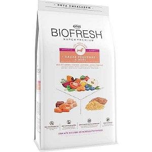 Ração Seca Biofresh Mix de Carne, Frutas, Legumes e Ervas Frescas Light Cães de Raças Pequenas e Minis