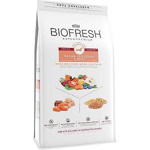 Ração Seca Biofresh Mix de Carne, Frutas, Legumes e Ervas Frescas Cães Sênior de Raças Pequenas e Minis
