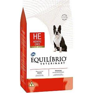 Ração Seca Total Equilíbrio Veterinary HE Problemas Hepáticos para Cães Adultos