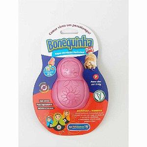 Brinquedo Mordedor Bonequinha Pet Games Cores Sortidas