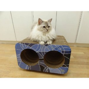 Brinquedo Arranhador Pet Games Cat Box Duplo – Geométrico