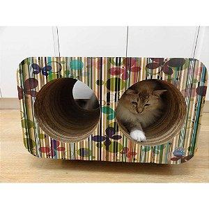 Brinquedo Arranhador Pet Games Cat Box Duplo – Borboleta