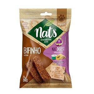 Bifinho Natural Nats NatDigest para Cães