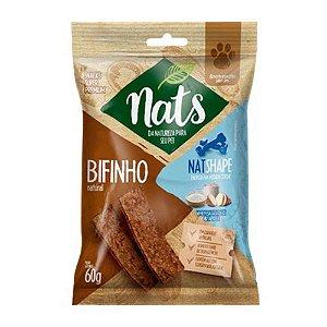 Bifinho Natural Nats NatShape para Cães