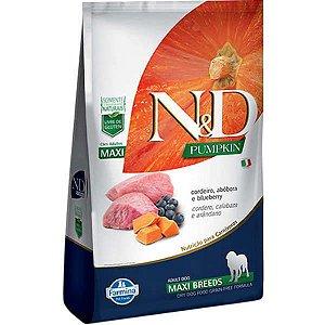 Ração Farmina N&D Pumpkin Cordeiro para Cães Adultos de Raças Grandes