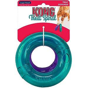 Brinquedo KONG Treat Spiral Ring para Cães