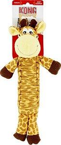 Brinquedo Interativo Para Cães Kong Bendeez Giraffe
