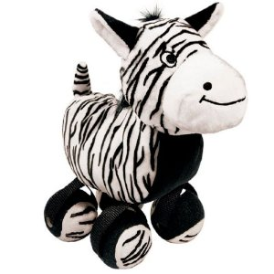 Brinquedo Kong Pelúcia Tennishoes Zebra