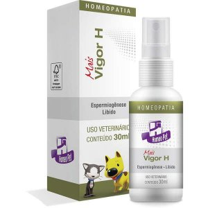 Sistema de Terapia Real H Homeo Pet Mais Vigor H - 30 mL