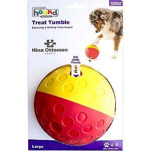 Brinquedo Outward Hound Bolinha Recheável Treat Tumble Grande