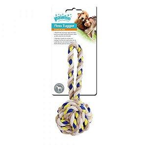 Brinquedo de Corda p/ Cães – Bola c/ Pegada Pawise