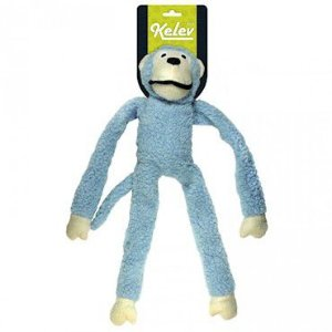 Brinquedo Jambo Macaco Pelúcia Azul