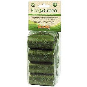 Refil Cata Caca Jambo 8 rolos para Cães Eco Green