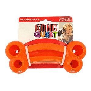 Brinquedo Recheável Kong Quest Bone - Cores Sortidas