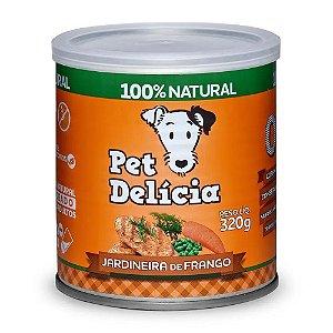 Alimento Úmido Pet Delícia Jardineira de Frango