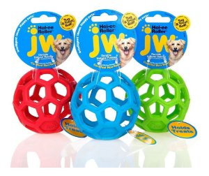 Brinquedo Jw Holee Roller Bola Para Cães MIni Cores Sortidas