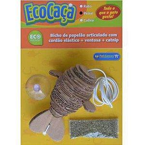 Brinquedo Eco Caça Peixe Pet Games para Gato com Catnip