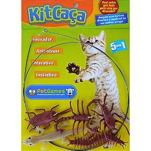 Brinquedo Kit Caça Pet Games