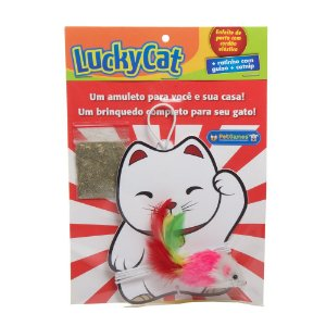 Brinquedo Pet Games Lucky Cat