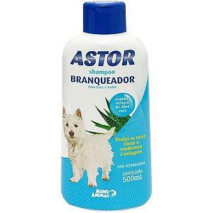 Shampoo Azul Astor Branqueador para Cães - 500 mL