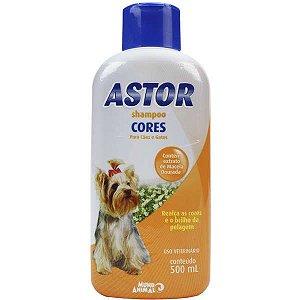 Shampoo Cores Astor para Cães - 500 mL