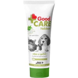 Gel Dental Mundo Animal Good Care Haliclean para Cães e Gatos 100g