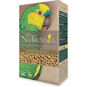 Ração Nutrópica Natural para Papagaios 700g