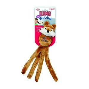 Brinquedo Pelúcia Kong - Fuzzy Wubba Dog Toy Animal Friend Soft Toys For Fox