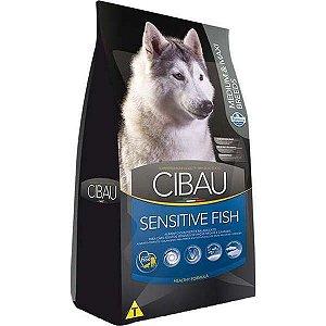 Ração Farmina Cibau Sensitive Fish para Cães Adultos de Raças Médias e Grandes