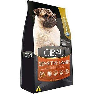 Ração Farmina Cibau Sensitive Lamb para Cães Adultos Sensíveis de Raças Pequenas