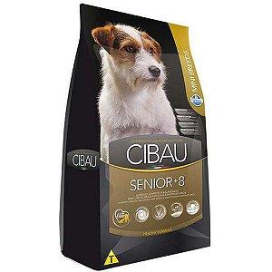 Ração Farmina Cibau Senior +8 para Cães de Raças Pequenas com 8 Anos ou Mais de Idade