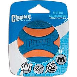 Brinquedo Chuckit Bola Ultra Squeaker Apito - 1 Unidade