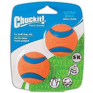 Brinquedo Chuckit Bola Ultra Ball - 2 Unidades