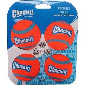 Brinquedo Chuckit Bola de Tennis - 4 Unidades