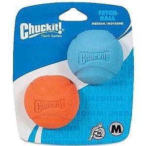 Brinquedo Chuckit Bola Fetch Ball - 2 Unidades Médio
