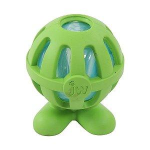 Brinquedo JW Crackle Cuz Verde Médio