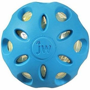 Bola Jw Pet Crackle Ball Cuz Para Cães - Azul