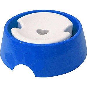 Bebedouro Furacão Pet Plástico Pop Vermelho Pelos Longos 1 Litro