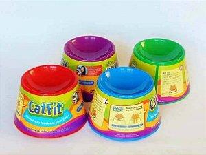 Comedouro e Bebedouro Pet Games Cat Fit / Eat para Gatos