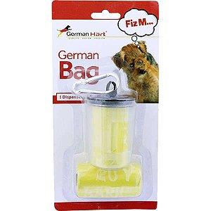 Dispenser GermanHart GermanBag Transparente com Refil Amarelo